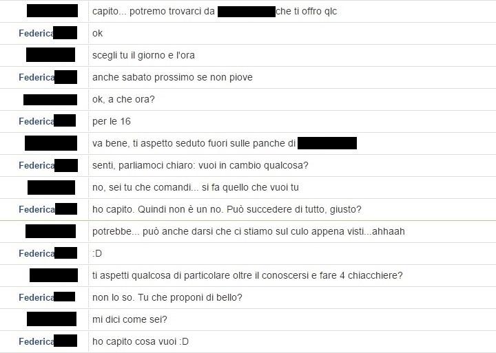 Chat appuntamento 4