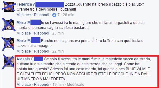 Commenti Valentina 5