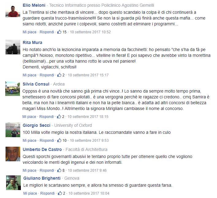 Commenti Informazione Italia 1