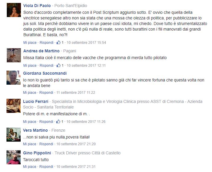 Commenti Informazione Italia 2