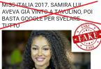 Miss Italia 2017 cover