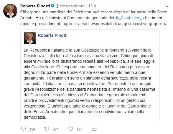 Pinotti tweet 1